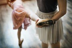 Ballett-Tänzer Training School Concept Stockbild