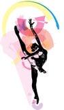 Ballett-Tänzerillustration lizenzfreie abbildung