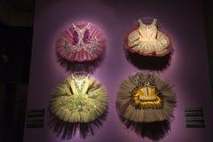 Ballett und Leidenschaftsausstellung im Museum von Künsten und Handwerk in Zagreb, Kroatien Lizenzfreie Stockfotos