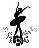 Ballettauszugsauslegung 2 Stockfotografie