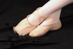 Ballettfüße Lizenzfreies Stockfoto