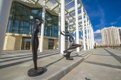 Ballettheater in Astana stock fotografie