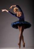 Ballettkunstausdruck und -bewegung Kunst des klassischen Balletts Lizenzfreies Stockfoto