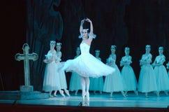Balletto classico Giselle Fotografie Stock