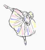 Balletto del ballerino Fotografia Stock Libera da Diritti