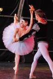 Balletto del lago swan   Immagine Stock