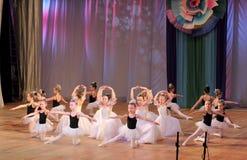 Balletto di ballo dei bambini fotografie stock