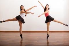 Balletto di dancing insieme Fotografie Stock Libere da Diritti