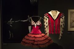 Balletto e mostra di passione in museo delle arti e mestieri a Zagabria, Croazia Fotografia Stock Libera da Diritti
