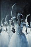 Balletto Giselle nell'opera della condizione di Praga Immagini Stock