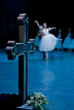 Balletto Giselle nell'opera della condizione di Praga Fotografie Stock Libere da Diritti