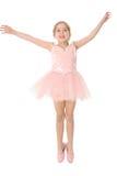 Balletto nell'aria Fotografia Stock Libera da Diritti