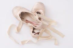 Ballettschuhe stockbilder
