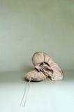 Ballettschuhe des Kindes Lizenzfreie Stockfotos