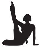 Balletttänzer lizenzfreie abbildung