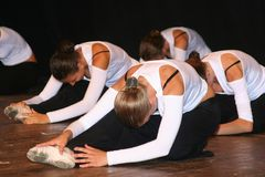 Balletwelt Lizenzfreies Stockfoto