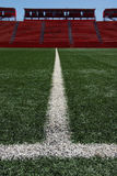 Ballfield turf in stadium Stock Photography