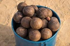Ballgame on the beach Royalty Free Stock Photo