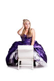 Ballgown confusion Royalty Free Stock Photo
