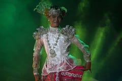 Balli del Myanmar Immagini Stock Libere da Diritti