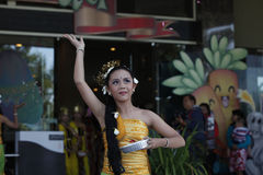Balli di balinese Immagini Stock Libere da Diritti
