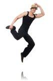 Balli di dancing del ballerino Fotografia Stock Libera da Diritti