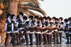Balli l'insieme dalla Moldavia ai comp. dell'internazionale del ` s dei bambini immagine stock