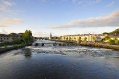 Ballina. River Moy at Ballina, Co.Mayo, Ireland Stock Photography