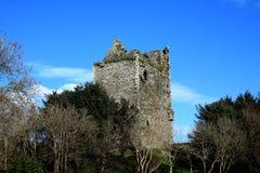 Ballinacarriga Castle Dunmanway Κορκ Ιρλανδία Στοκ Φωτογραφία