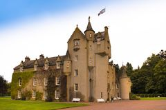 Ballindallach城堡苏格兰 库存图片