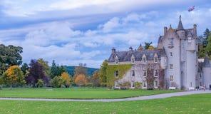 Ballindalloch slott Royaltyfri Fotografi