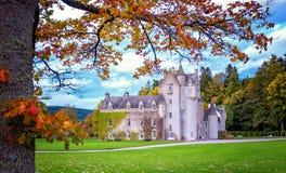 Ballindalloch slott Fotografering för Bildbyråer