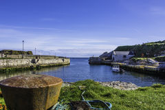 Ballintoy Harbour, Ireland. A View of Ballintoy Harbour, Antrim, a set location for Game of thrones stock photo