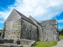 Ballintubber-Abtei, des 12. Jahrhundertskirche, Mayo, Irland lizenzfreies stockbild
