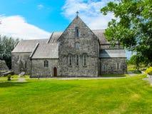 Ballintubber-Abtei, des 12. Jahrhundertskirche, Mayo, Irland stockbilder