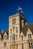 Balliol College, Oxford. Front aspect of Balliol College, Oxford from Broad Street royalty free stock photography
