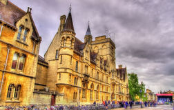 Balliol College in Oxford - England Stock Photo