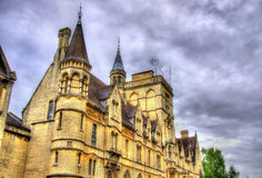 Balliol College in Oxford - England stock image