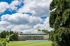 Balliol sports ground Royalty Free Stock Photo