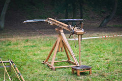 Ballista - ancient missile weapon Stock Photography