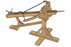 Ballista weapon Royalty Free Stock Photos