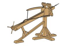 Ballista weapon Stock Photos