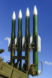 Ballistic missile launcher Stock Photos