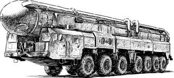 Ballistic missile Stock Photos