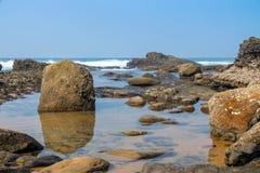 Ballito, Kwazulu Natal, South Africa. The beautiful coastline of Kwazulu Natal, South Africa Royalty Free Stock Photography