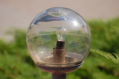 Balllampe stockbild