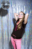 Ballo alla discoteca Immagine Stock Libera da Diritti
