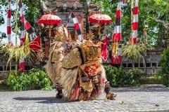 Ballo Bali Indonesia di Barong Immagine Stock Libera da Diritti