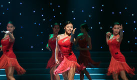 Ballo ballo-latino sexy Fotografia Stock