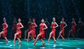 Ballo ballo-latino sexy Immagini Stock